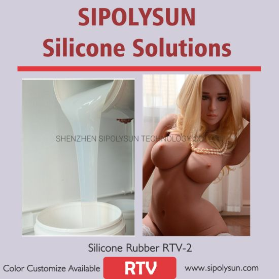 Mold Making Silicone Rubber for Sex Dolls Molding Color Customize