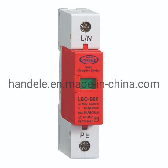 Surge Protective Device Lbo-B80 SPD 1p 420V Flat Type