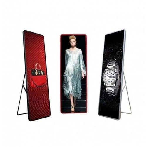 Low Price SMD P3 Indoor Advertising Commercial LED Standee Display for Booth Show pictures & photos