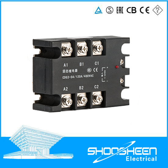 Three Phase Control Relay / Overload Relay 3da Series / 3 Phase PCB SSR Relays