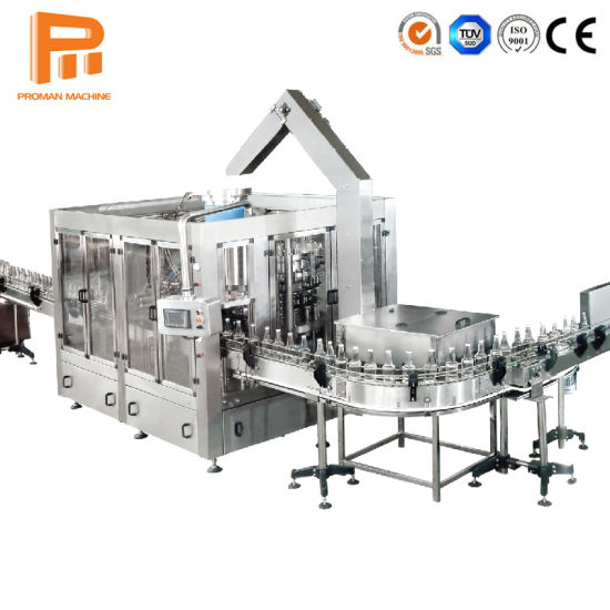 Bgf Series Glass Beer and Carbonated Beverage Water Bottling Pressure Filling Machinery Liquid Beer Drink Cleaning Filling and Sealing Machine pictures & photos