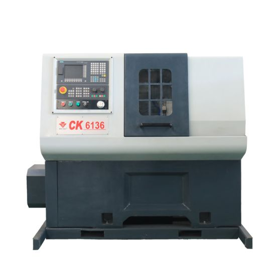 High Precision Horizontal CNC Lathe Machine for Metal with Cheap Priceck6136