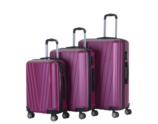 High Quality Wholesale Suitcase ABS Trolley Luggage for Travel (XHA154)