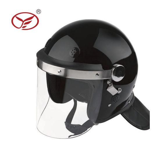 Tactical Helmet Reinforced Plastic Training Security Guard Anti Riot Helmet