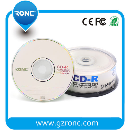 Free Sample Blank 12cm Blank CD-R Wholesale