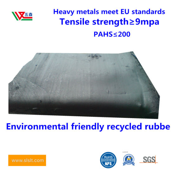Environmental Protection of Tyre Recycled Rubber Tasteless Recycled Rubber