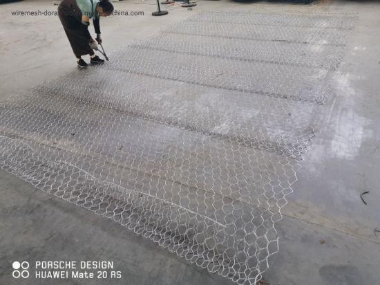 Heavy Galvanized Gabion/PVC Gabion Box/Galfan Gabion