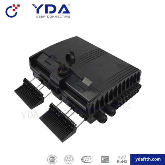 FTTH IP65 Outdoor Box 16 Port Fiber Optic Distribution Box with Adapter