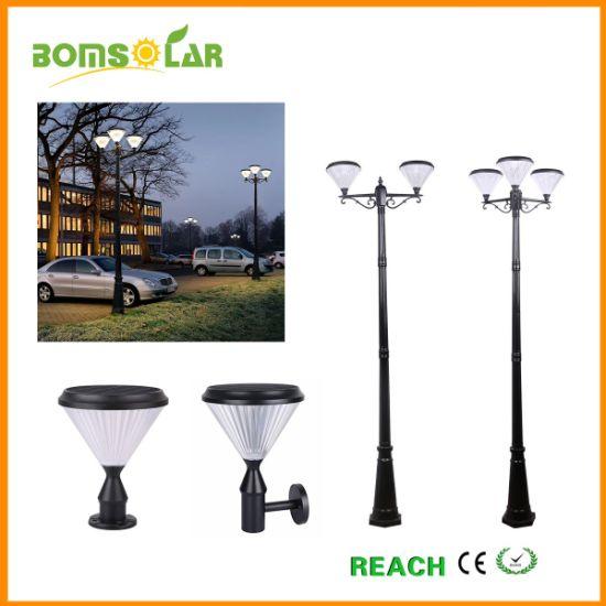China Led Solar Lamp Post Outdoor Bright Solar Garden Light
