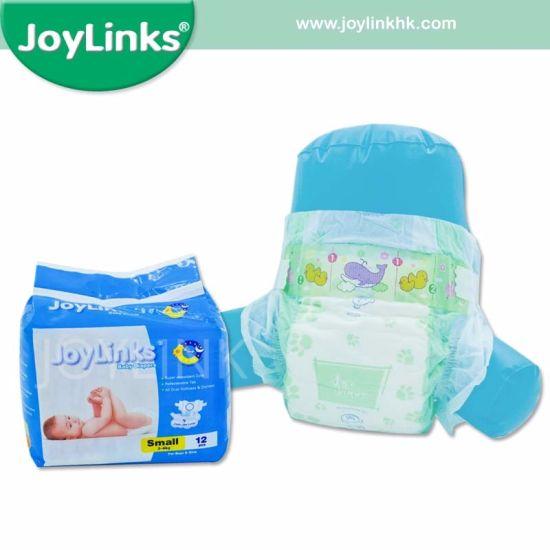 PE Film Backsheet Baby Diaper (small/medium/large/X-large)