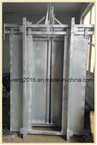 Galvanzied Cattle Crush Gate Fence Panel