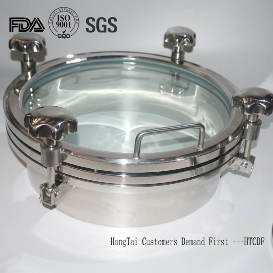 Stainless Steel High Pressure Small Cone Tank Manhole Cover