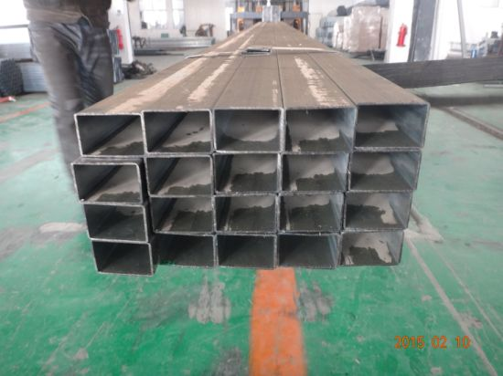 Galvanized Square Steel Pipe 90*50 Used for Greenhouse Structure