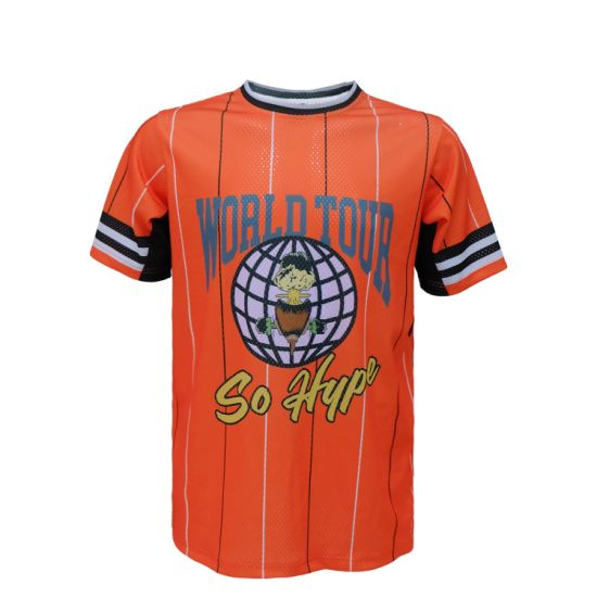 Quick Dry Custom Design Dye 100 Polyester Sublimation Printing T Shirt