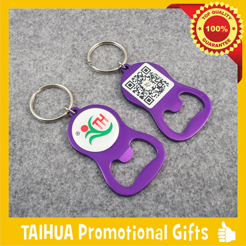 Promotion Metal Bottle Opener with Keychain (TH-06923) pictures & photos