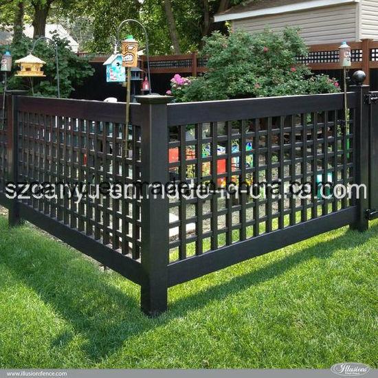 Perfect Plastic Expandable Garden Trellis/Galvanized Garden Fence