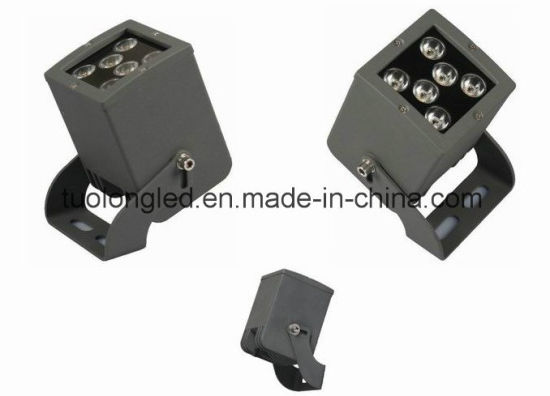 12W Square LED Shoot Light Tuolong Outdoor Building Lighting pictures & photos
