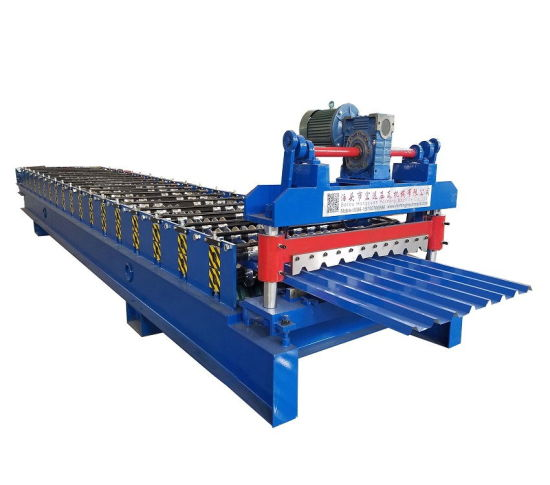Panel Sheet Manufacturing Ibr Roof Machine