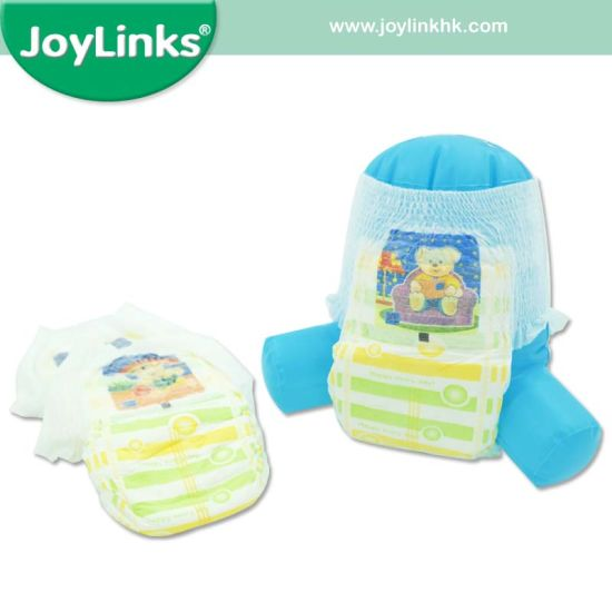 Baby Diaper Pants with Easy-Open Sides