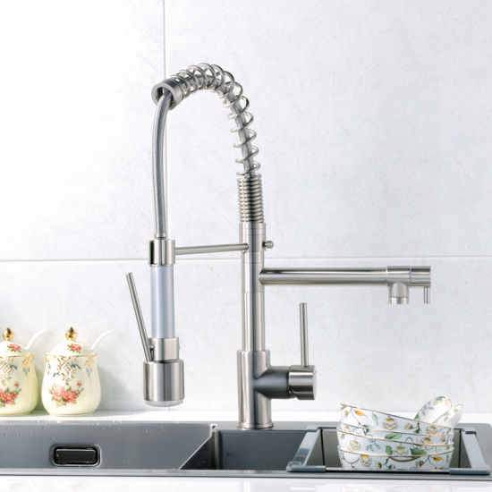 water sink with fapully kitchen faucet cold item gold handle rotating single mixer sprayer degree hot tap