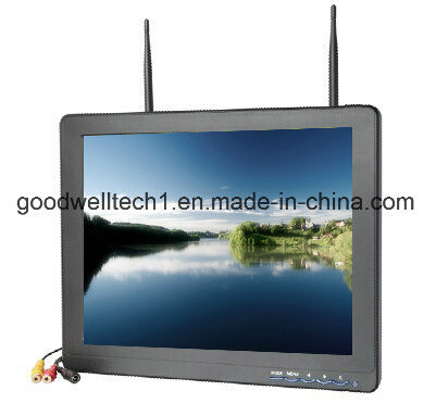No Blue Screen 12.1 Inch Security Monitor for Aerial Photography pictures & photos