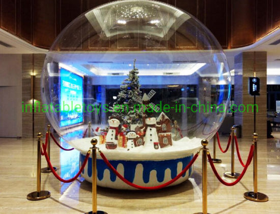 Customized Inflatable Christmas Snowball for Events for Snow Globe for Display pictures & photos