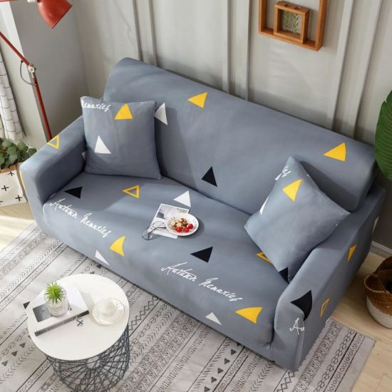 1 2 3 4 Seater Sofa Covers Sofa Slipcovers Protector Elastic ...