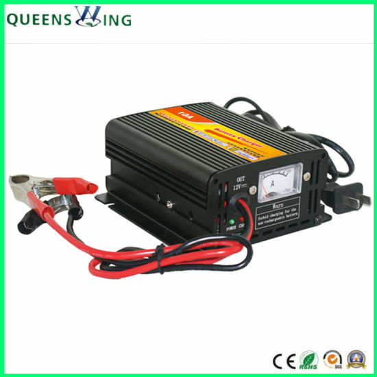 12V 5A Battery Charger for Rechargeable Storage Battery (QW-5A)