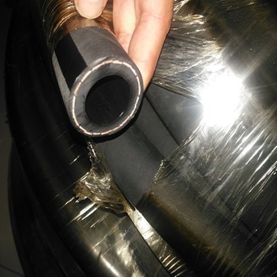 China 3/16 Fluorine Rubber Smooth Black Cover Diesel Fuel