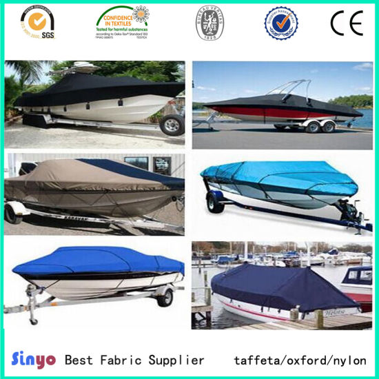 Oxford 300d*300d PVC Laminated Boat/ Yacht Cover Fabric pictures & photos
