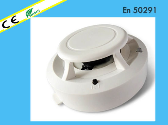 Conventional Photoelectric Smoke Detector for Fire Alarm Control Panel Usage