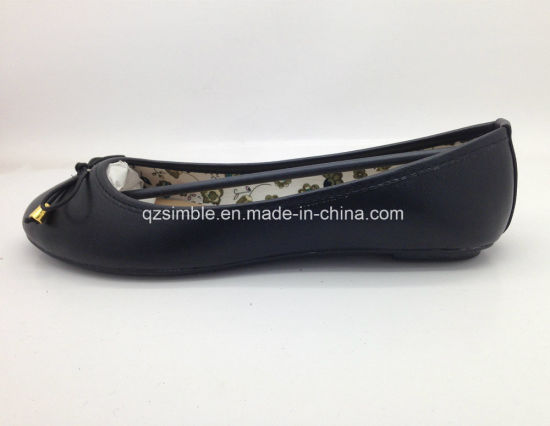 New Flat PU Ballerinas for Women pictures & photos