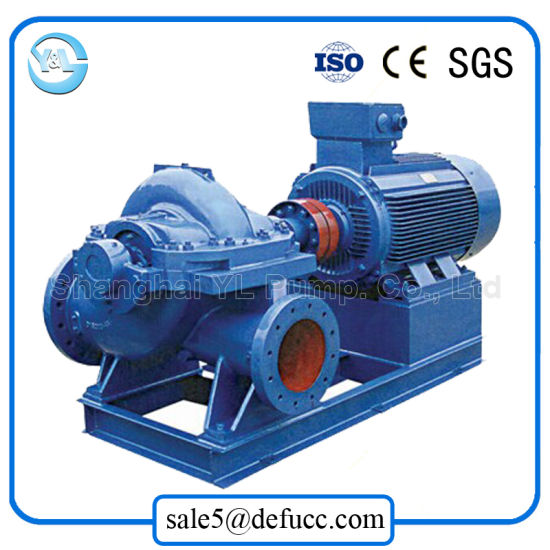 Huge Flow Horizontal Motor Split Case Centrifugal Dewatering Pump pictures & photos