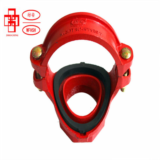 Fire Hydrant Pump Coupling Female Pipe Fittings Grooved Iron Pipe Fitting Mechanical Tee
