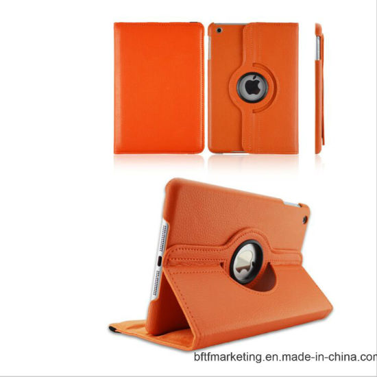 Cover Case for Apple iPad 360 Rotating Stand Flip Smart PU Leather Case pictures & photos