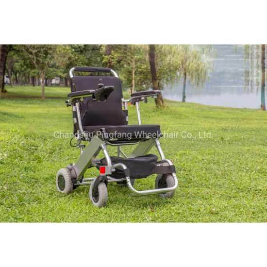 Distributor Wanted Aluminum Light Weight Portable Folding Mobility E-Scooter Power Electric Wheelchair for Disabled
