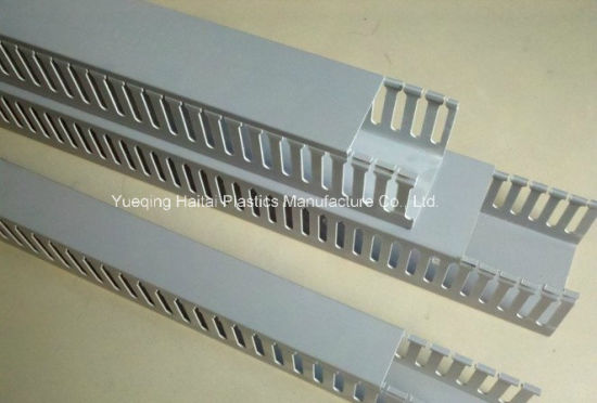 China Haitai PVC Cable Trunking/PVC Wire Duct - China Wire Duct, PVC ...