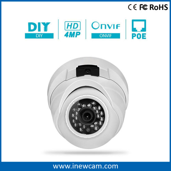 4MP CMOS Poe Security IP Camera with RoHS Ce Certification pictures & photos
