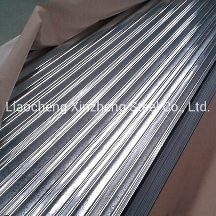 0.12mm-0.8mm Roofing Tiles Galvanized Corrugated Steel Sheet