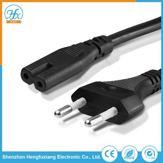 AC 100-240V 10A Copper PVC Polystyrene Extension Plug Power Cord
