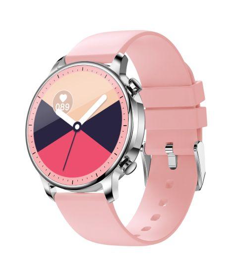 Wholesale Silicone Strap CE RoHS Fashion Women Ladies Bracelet Digital LED Electronic Mobile Phone Sports Bluetooth Smart Band Wrist Gift Watch W29