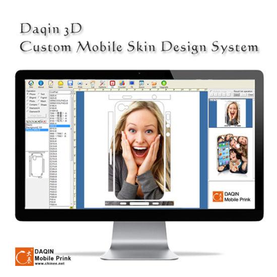 Custom made 3d sticker printer machine for mobile accessories