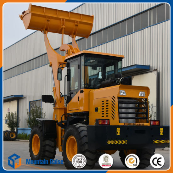 China Manufacture 1.8ton Front Wheel Loader with Competitive Price (ZL26) pictures & photos