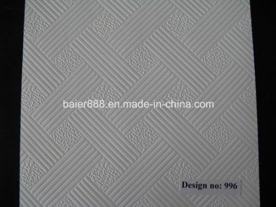 PVC Laminted Gypsum Board 603X1210X9mm pictures & photos