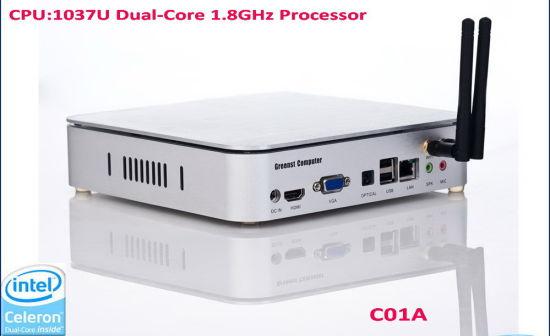Wireless Mini PC with Dual Core 1.8GHz CPU