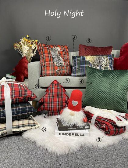 Christmas Star Velvet Sofa Cushions / Color Gift Pillows Home Decorative Cushions