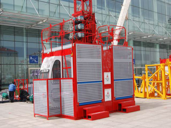 1-4t 10-150m 3 Phase Electric Wire Rope Hoist and Overload Device Construction Building Lift Hoist with Schneider