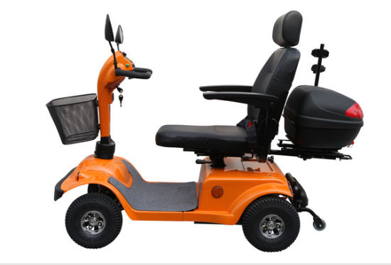 Four Wheels Popular Electric Mobility Scooter with Taiwan Motor pictures & photos