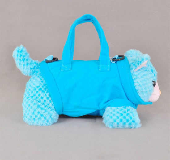 Soft Plush Toy Bag Plush Stationery Plush Bag pictures & photos