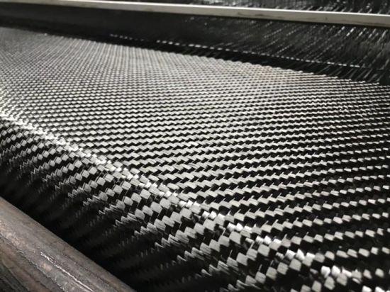 China 6K 320g 400g 480g Carbon Fiber Fabric Composite for Construction -  China Carbon Fiber Fabric, 3K Carbon Fiber Fabric